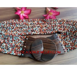 Fashion Beads Belts Clasps