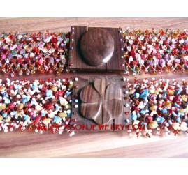 Stone Beads Belt