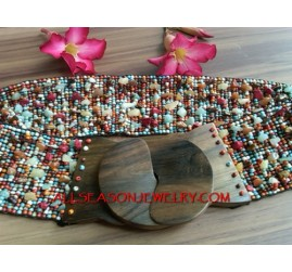 Stone Beads Fashion Belts