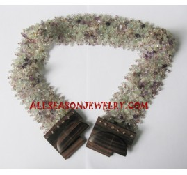 Women Beading Belts