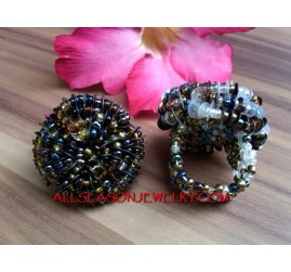 Beads Rings Bali Designs