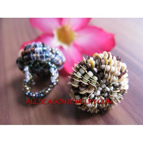 Bali Beads Rings Fashion