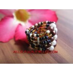 Bali Fashion Ring Beads