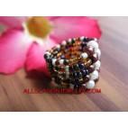 Bali Fashion Ring Beads