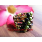 Bead Ring Cuff Fashion