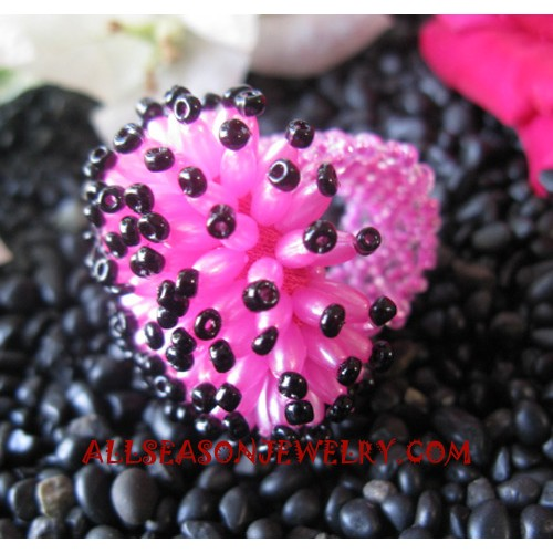 Bead Ring Handmade