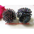 Beads Finger Rings Women Accessories