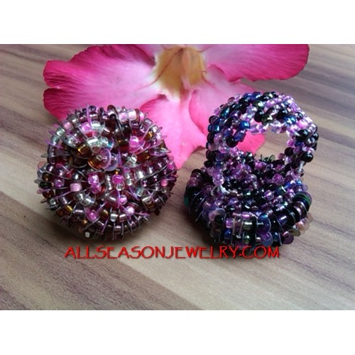 Casual Beads Finger Rings Fashion