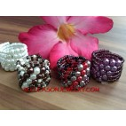 Finger Ring Fashion Bali Mix Color