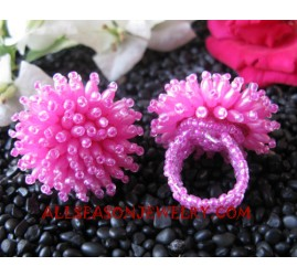 Fashion Bead Ring