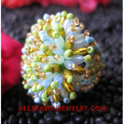 Fashion Beaded Ring