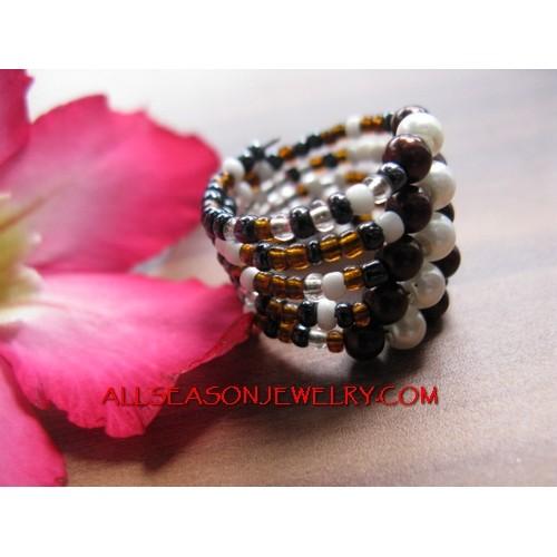 Beading Ring Cuff Designs