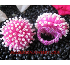 Girls Beads Ring Fashion