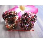 Handmade Women Bead Ring