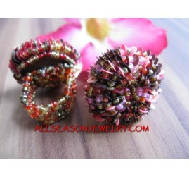 Handmade Women Bead Ring