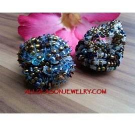 Ladies Beads Rings Fashion Women