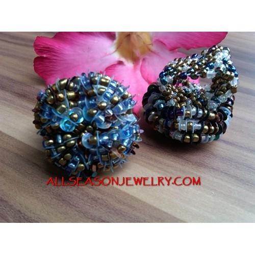 Ladies Beads Rings Fashion Women