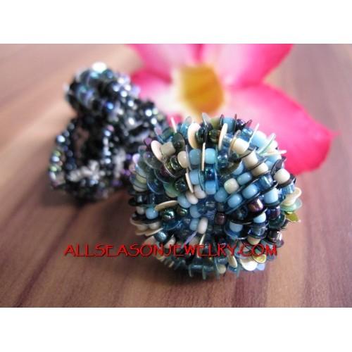 Flower Beads Rings