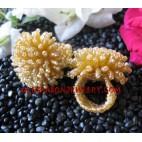 Ring Beads Natural