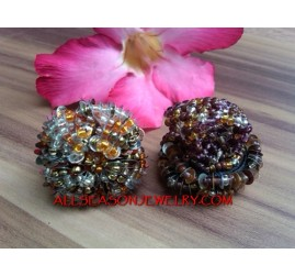 Sequins Ring Fashion