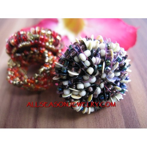 Women Rings Beads Fashion Accessories