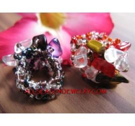 Fashion Beads Stone Stretch