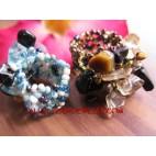Handmade Bead Stone Rings
