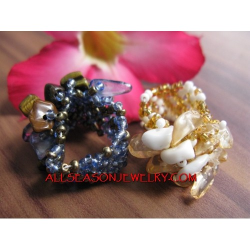 New Beads Ring Stone