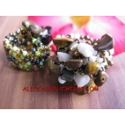 Streching Beads Stone Rings