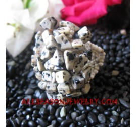 Stones Beads Rings