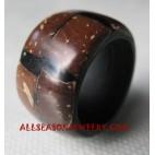 Coco Wood Rings Handmade Bali