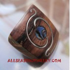 Fashion Rings Wooden