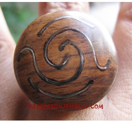 Fashion Wooden Rings