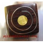 Finger Rings Wooden