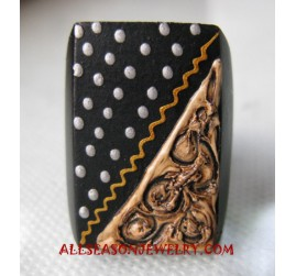 Painting Wooden Ring