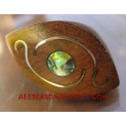 Paua Woods Ring Natural