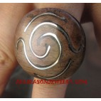 Wood Stainless Rings