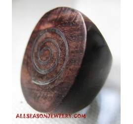 Wooden Ring Natural