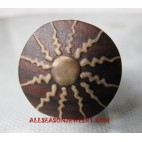 Wooden Ring Painted