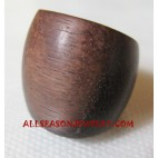 Wooden Rings Natural