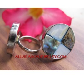 Bali Stainless Steel Rings