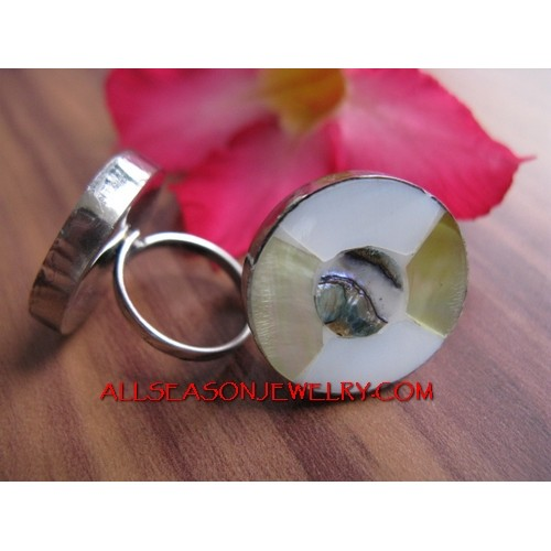 Casual Rings Stainless Shells