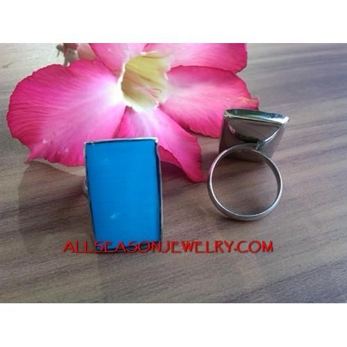 Ring Steels Resin Blue