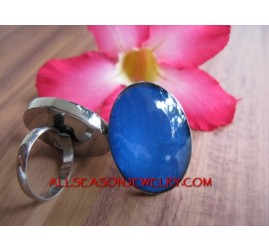Resin Finger Ring Stainless