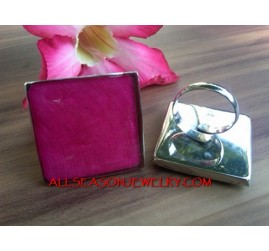 Stainless Steel Ring Resin