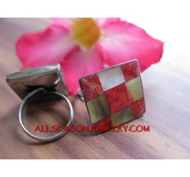 Seashells Stainless Ring