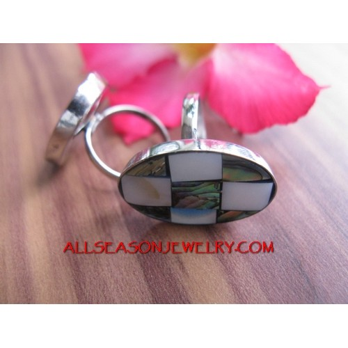 Fashion Stainless Rings Shell