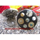 Shell Paua Abalone Mix Rings Seashells Stainless Steel