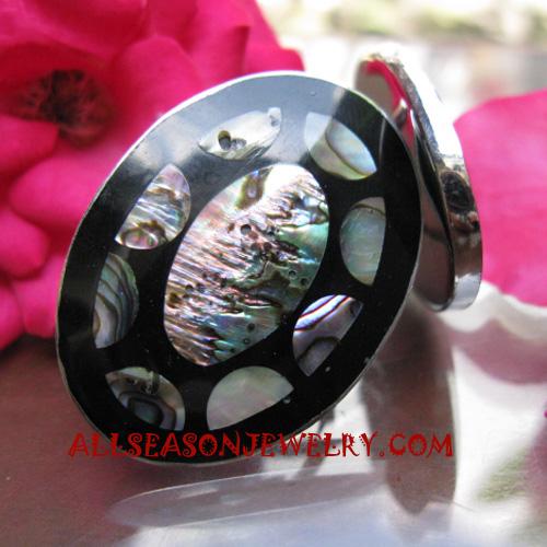 Seashell Ring Paua