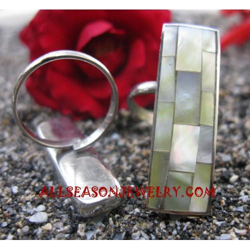 Seashells Rings Stainless